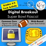 Digital Breakout - Super Bowl Fiasco! | Super Bowl Digital Escape Room
