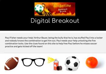 Digital Breakout: Tangerine by Edward Bloor