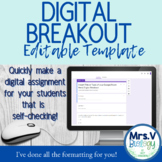 Digital Breakout Templates Using Google Forms
