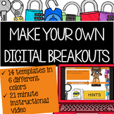 Digital Breakout Tutorial and Templates to Make Your Own