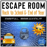 Digital Breakouts Duo Back to School and End of Year Distance Learning