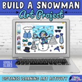 Digital Build A Snowman Activity & Writing Prompts for Dis