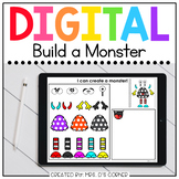 Digital Build a Monster | Digital Activities for Special E