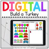 Digital Build a Turkey | Digital Activities for Special Ed