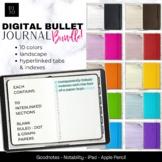 Digital Bullet Journal Bundle - 10 Colors for Your GoodNot