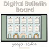 Digital Bulletin Board | Boho Rainbow | Show off student w