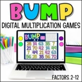 Bump Digital Math Games for Multiplication Facts