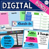 Digital Activities Bundle | Editable Templates in Google S