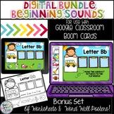 Digital Bundle Starter Packet -Beginning Sounds Distance Learning