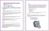 Digital Business Applications - Professional Communication