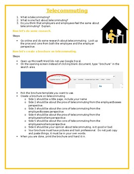 Digital Business Applications - Telecommuting