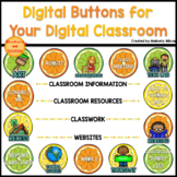 Digital Buttons for Your Digital Classroom Citrus Theme Di