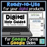 Digital Buyer Help Guide for Teacher Authors | Google Form