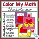 Digital Christmas Math Coloring Activities Google™ Forms S