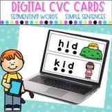 Digital CVC Segmenting and Blending Cards/ Strips