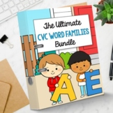 Digital CVC Words Activities Google Slides Classroom Flash