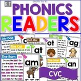 Digital CVC Word Family Phonics Readers- Boom Cards™