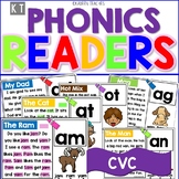 Digital CVC Word Family Phonics Readers- Boom Cards™