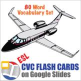 Digital CVC Word Flash Cards