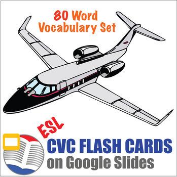 CVC Word Flash Cards Digital