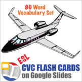 Digital CVC Word Flash Cards