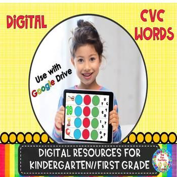 Digital CVC Words