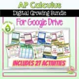 Calculus Digital Activity Bundle for Google Slides™ Distan