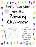 Digital Calendar April and May 2019