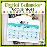 Digital Calendar Distance Learning