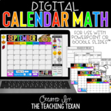 Digital Calendar Math Activities and Printables