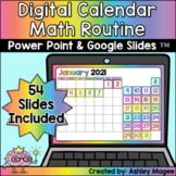 Digital Calendar Math for Google Slides (TM) & Power Point
