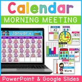 Digital Calendar   PowerPoint   Google Slides   Distance Learning