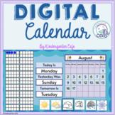 Digital Calendar Set Up