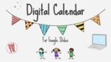Digital Calendar and Math Work