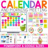 Digital Calendar for Google (TM) and PowerPoint   Distance