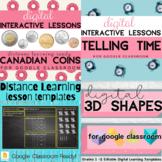 DIGITAL Canadian Distance Learning BUNDLE Google Classroom