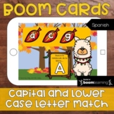 Digital: Capital and Lowercase Letter Match (Boom Cards, Spanish Alphabet)