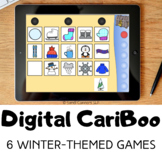 Digital CariBoo     Boom Cards™     Speech Therapy     6 Winter-Themed Games