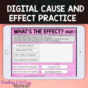 Digital Cause and Effect Practice for Google Drive
