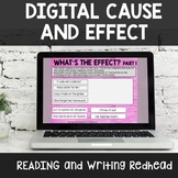Distance Learning Digital Cause and Effect Practice Google Drive