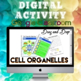 Digital Cell Organelle Activity for Google Classroom Dista