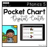Digital Center - CVC Short Vowel O (Google Classroom) - Pocket Chart