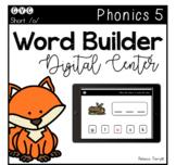 Digital Center - CVC Short Vowel O (Google Classroom) - Word Builder