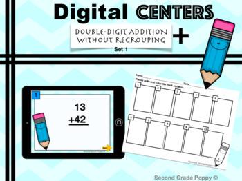 Digital Center- Double Digit Addition