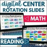 Digital Center Rotations Board Bundle - Reading & Math