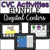 Google Classroom CVC Activity **GROWING**  Bundle - Digital Centers