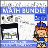 Digital Math Centers - Growing Bundle - $66.00+ VALUE