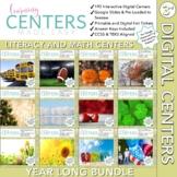 Digital Centers - Third Grade Math and Literacy COMBO - Ye