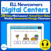 Digital Centers for ELL Newcomers {BUNDLE}