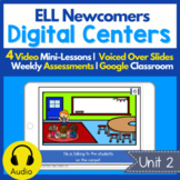 Digital Centers for ELL Newcomers {Unit 2}